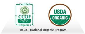 USDA Certified Organic Teas